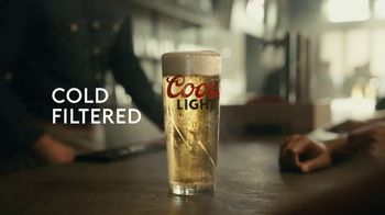 Coors Light TV Spot, 'Hot Bar Waterfall' Song by Pigeon John