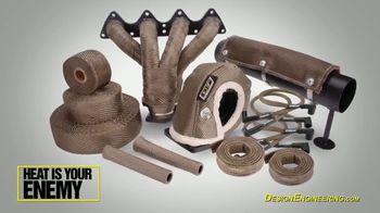 Design Engineering Titanium Exhaust Wrap TV Spot, 'Stronger' - Thumbnail 6