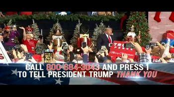 Donald J. Trump for President TV Spot, 'Thank You' - Thumbnail 7