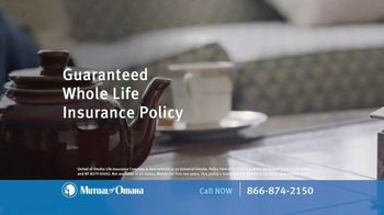Mutual of Omaha Guaranteed Whole Life Insurance Policy TV Spot, 'Final Expenses: Who Will Pay?'