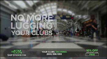 Ship Sticks TV Spot, 'Send Your Golf Clubs Ahead: 10 Percent' - Thumbnail 4