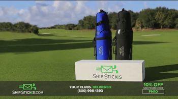 Ship Sticks TV Spot, 'Send Your Golf Clubs Ahead: 10 Percent' - Thumbnail 5