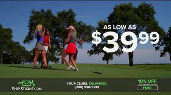Ship Sticks TV Spot, 'Send Your Golf Clubs Ahead: 10 Percent' - Thumbnail 9