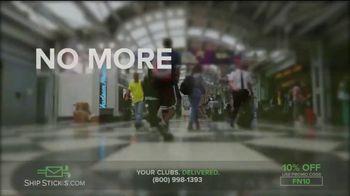 Ship Sticks TV Spot, 'Send Your Golf Clubs Ahead: 10%' - Thumbnail 3