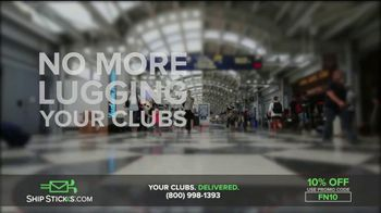 Ship Sticks TV Spot, 'Send Your Golf Clubs Ahead: 10%' - Thumbnail 4