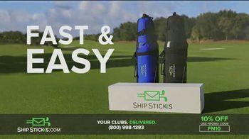 Ship Sticks TV Spot, 'Send Your Golf Clubs Ahead: 10%' - Thumbnail 6