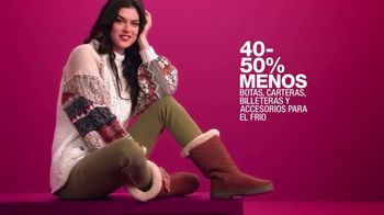 Macy's La Venta de Un Día TV Spot, 'Botas, relojes y cachemira' [Spanish] - Thumbnail 3