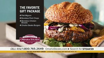 Omaha Steaks Favorite Gift Package TV Spot, 'Fifth Generation: $20 Off' - Thumbnail 6