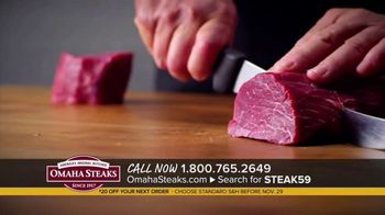 Omaha Steaks Favorite Gift Package TV Spot, 'Fifth Generation: $20 Off' - Thumbnail 8