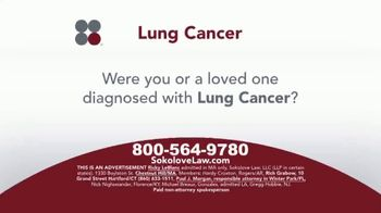 Sokolove Law TV Spot, 'Lung Cancer: Asbestos Exposure'