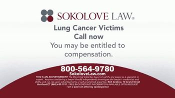 Sokolove Law TV Spot, 'Lung Cancer: Asbestos Exposure' - Thumbnail 5