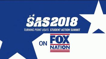 FOX Nation TV Spot, '2018 Student Action Summit' - 64 commercial airings
