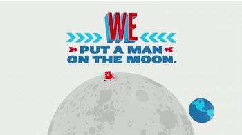 Great Nations Eat TV Spot, 'We Put a Man on the Moon'