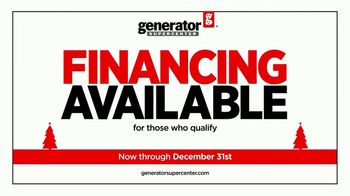 Generator Supercenter TV Spot, 'Power Up Your Holiday: Stocking Discounts' - Thumbnail 9
