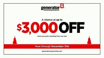 Generator Supercenter TV Spot, 'Power Up Your Holiday: Stocking Discounts' - Thumbnail 4
