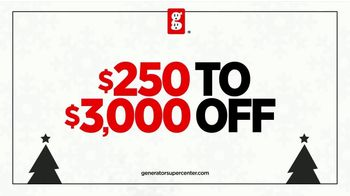 Generator Supercenter TV Spot, 'Power Up Your Holiday: Stocking Discounts' - Thumbnail 6