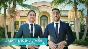 Omaze Dream House Giveaway TV Spot, 'Convince You' Featuring Matt Altman, Josh Altman - Thumbnail 1