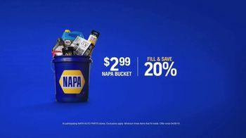 NAPA Auto Parts Love Your Car Month TV Spot, 'NAPA Bucket: Fill and Save' - Thumbnail 6