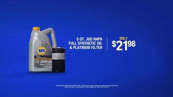 NAPA Auto Parts Love Your Car Month TV Spot, 'NAPA Bucket: Fill and Save' - Thumbnail 8