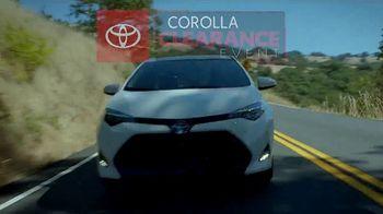 Toyota Corolla Clearance Event TV Spot, '2019 Corolla LE' [T2] - Thumbnail 10