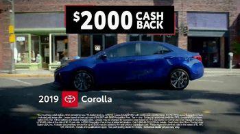 Toyota Corolla Clearance Event TV Spot, '2019 Corolla LE' [T2] - Thumbnail 8
