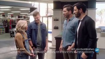 ADT TV Spot, 'DIY Fails with the Scott Brothers' Featuring Jonathan and Drew Scott