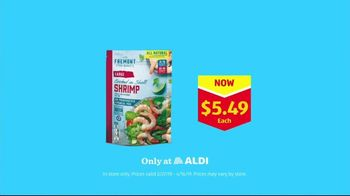 ALDI TV Spot, 'Father and Son: Large Cooked Shrimp' - Thumbnail 10