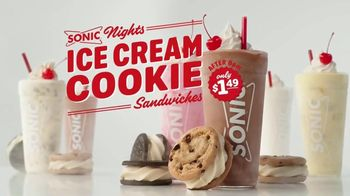 Sonic Drive-In Ice Cream Cookie Sandwiches TV Spot, 'Reunion Tour' - Thumbnail 2