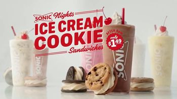 Sonic Drive-In Ice Cream Cookie Sandwiches TV Spot, 'Reunion Tour' - Thumbnail 8