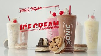 Sonic Drive-In Ice Cream Cookie Sandwiches TV Spot, 'Reunion Tour' - Thumbnail 9