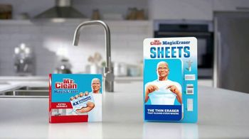Mr. Clean Magic Eraser TV Spot, 'Cleaning Tip: Kitchen and Bathroom Messes' - Thumbnail 10
