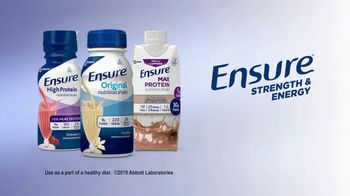Ensure TV Spot, 'On a Mission: Strength and Energy' - Thumbnail 7