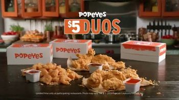 Popeyes $5 Duos TV Spot, 'Two Is Better Than One' - Thumbnail 6