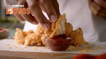 Popeyes $5 Duos TV Spot, 'Two Is Better Than One' - Thumbnail 5