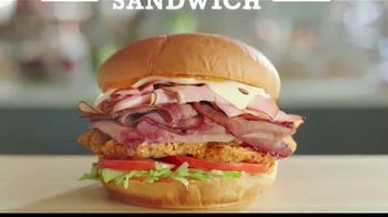 Arby's King's Hawaiian Big Kahuna Sandwich TV Spot, 'What's on It' Featuring H. Jon Benjamin, Song by YOGI - Thumbnail 4