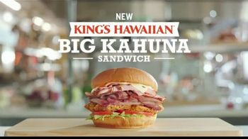 Arby's King's Hawaiian Big Kahuna Sandwich TV Spot, 'What's on It' Featuring H. Jon Benjamin, Song by YOGI - Thumbnail 8