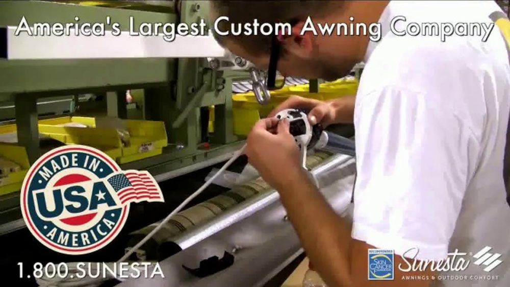 Sunesta TV Commercial, 'Retractable Awnings and Screens ...