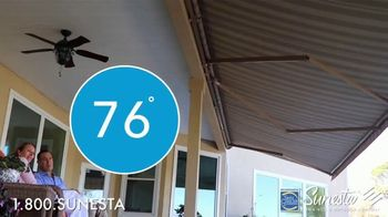 Sunesta TV Spot, 'Retractable Awnings and Screens' - Thumbnail 7
