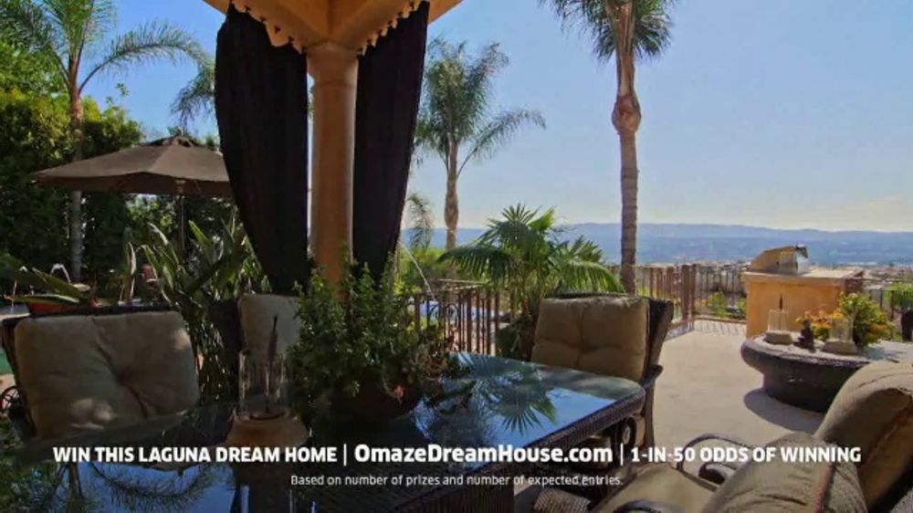 Omaze Dream House Giveaway Tv Commercial Win Your Dream