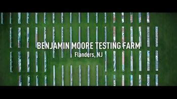 Benjamin Moore TV Spot, \'Where Benjamin Moore Paint Is Made\'