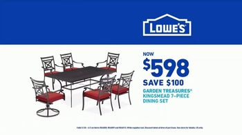 Lowe's TV Spot, 'Spring: Garden Treasures Dining Set' - Thumbnail 9