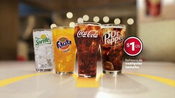 McDonald\'s $1 Soft Drinks TV Spot, \'Alegría incluida\' [Spanish]