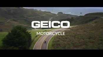 GEICO Motorcycle TV Spot, 'Jackhammer' Song by Whitesnake - Thumbnail 10