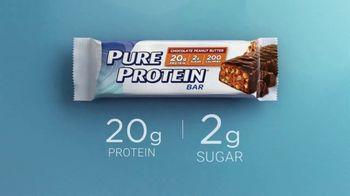 Pure Protein Bar TV Spot, 'High Protein, Low Sugar, Tastes Great' - Thumbnail 10