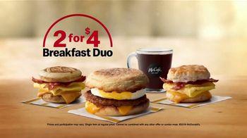 McDonald's Breakfast Duos TV Spot, 'Wake Up' - Thumbnail 7