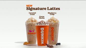 Dunkin' Donuts Signature Lattes TV Spot, 'Treat Yourself' - Thumbnail 9