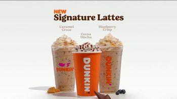 Dunkin' Donuts Signature Lattes TV Spot, 'Treat Yourself' - Thumbnail 8