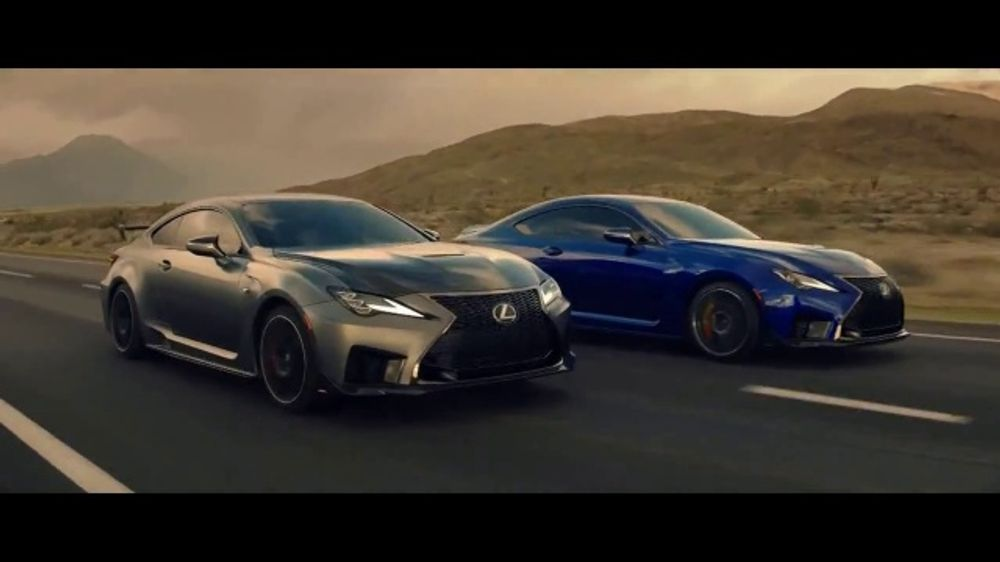2020 Lexus RC F TV Commercial, 'One-Track Mind' [T1]