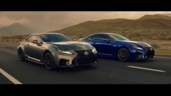2020 Lexus RC F TV Spot, \'One-Track Mind\' [T1]