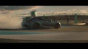 2020 Lexus RC F TV Spot, 'One-Track Mind' [T1] - Thumbnail 7